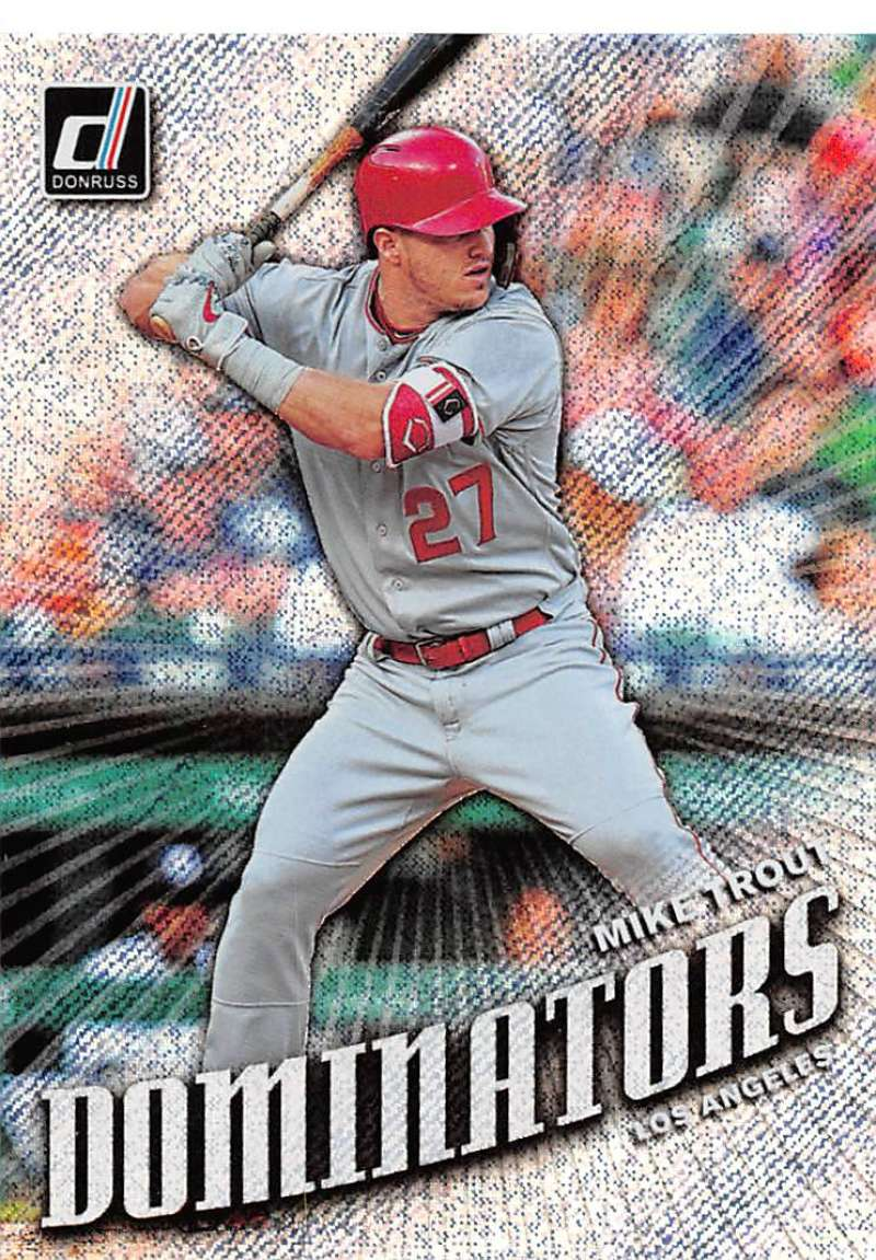2019 Donruss  Dominators Rapture