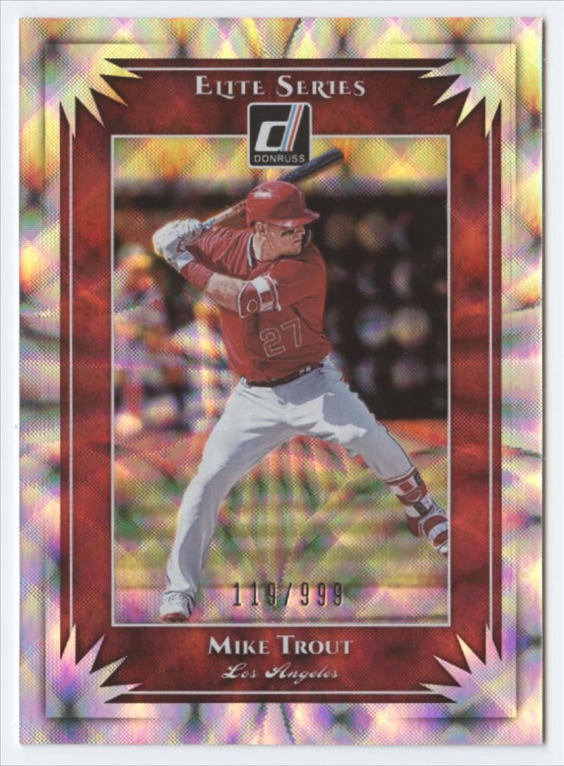 2019 Donruss  Elite Series