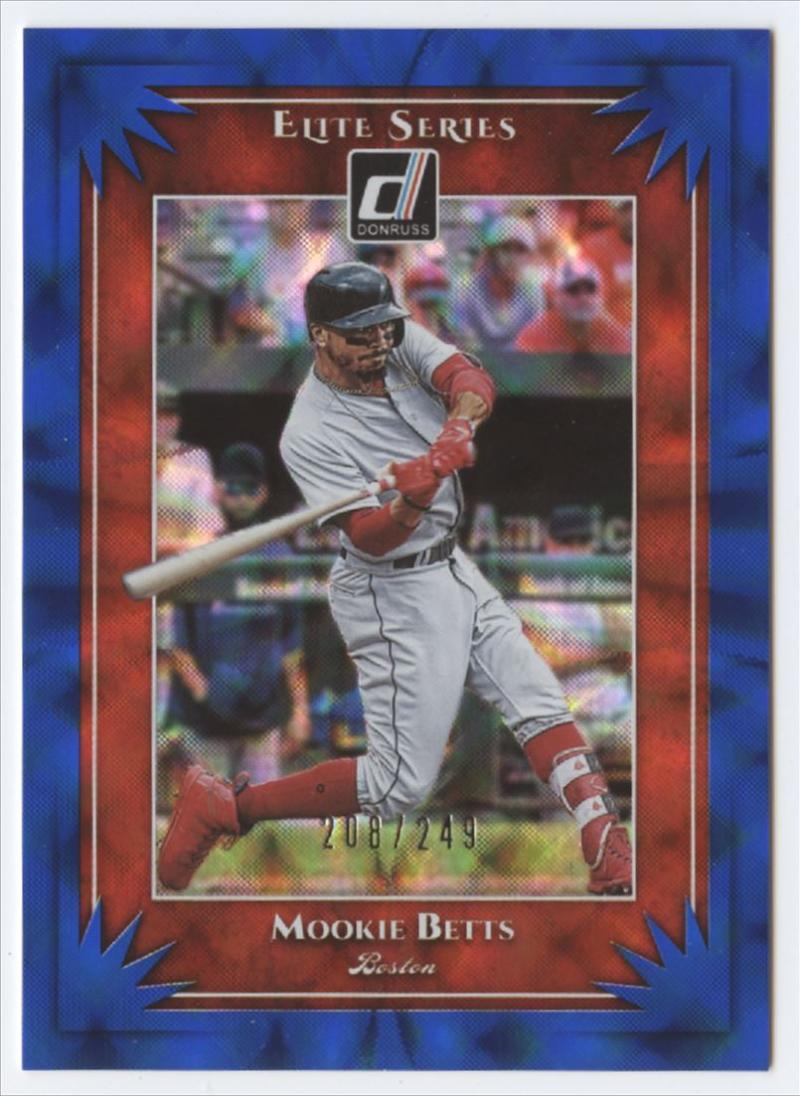 2019 Donruss  Elite Series Blue