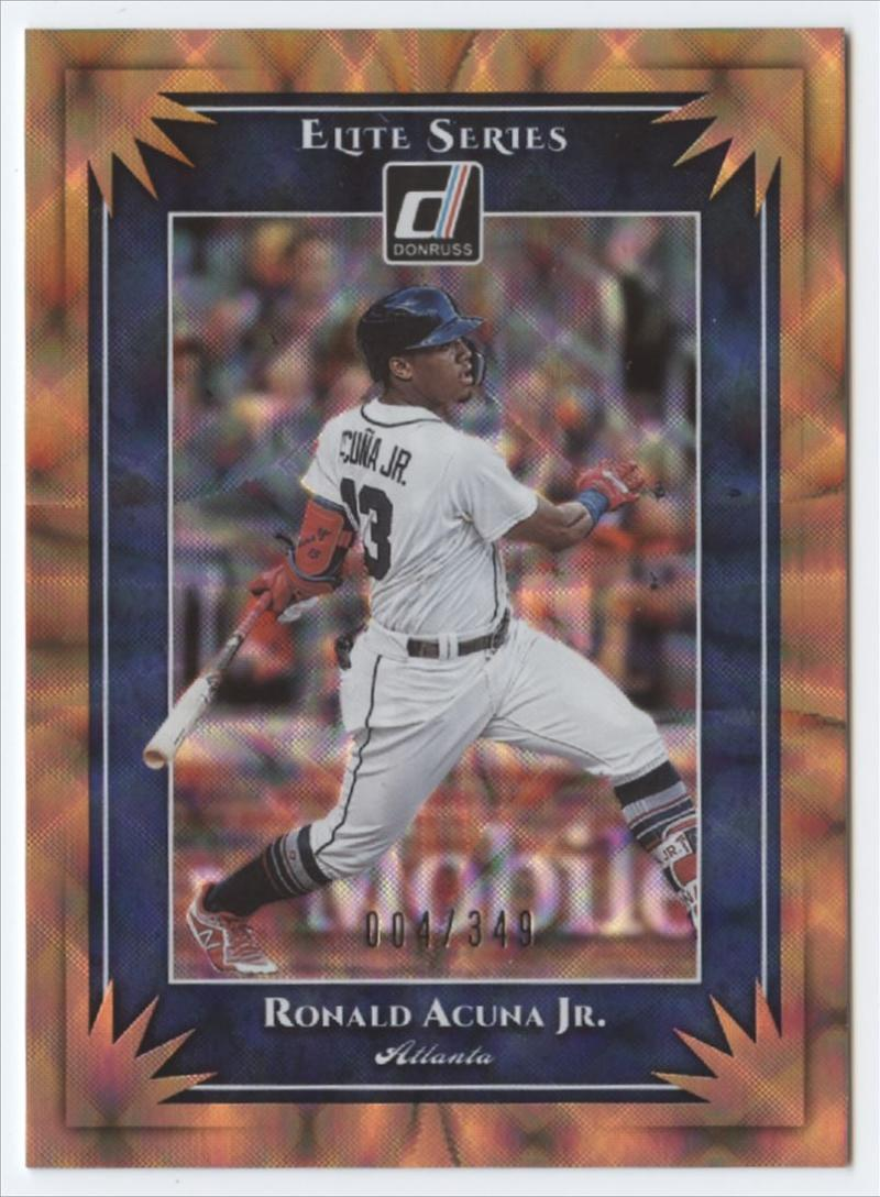 2019 Donruss  Elite Series Bronze