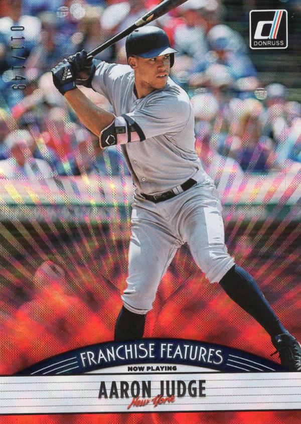 2019 Donruss  Franchise Features Red