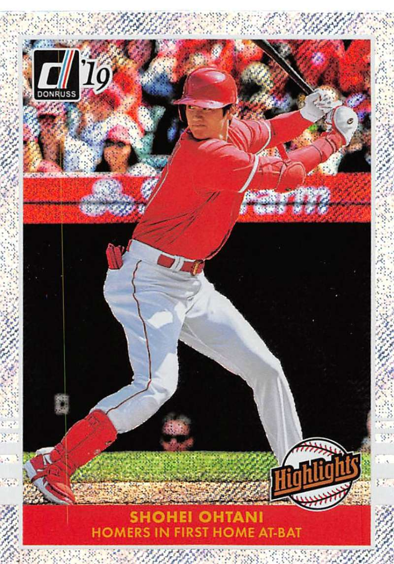 2019 Donruss  Highlights Rapture