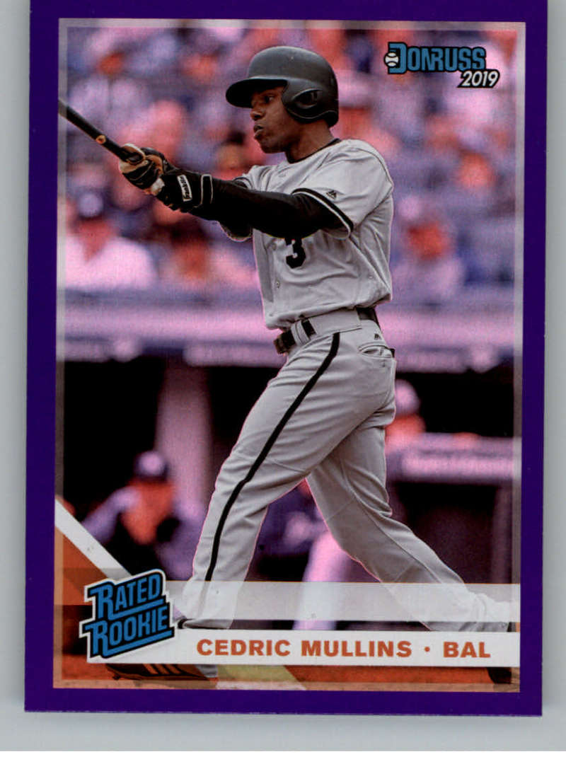 2019 Donruss  Holo Purple