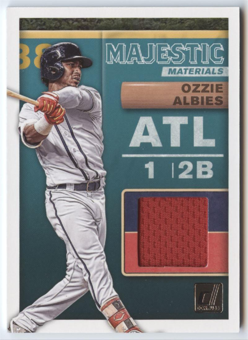 2019 Donruss  Majestic Materials