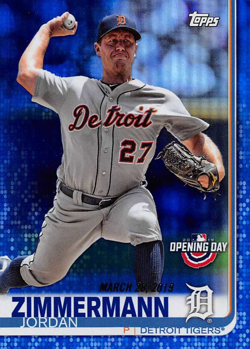 2019 Topps Opening Day Blue Foil