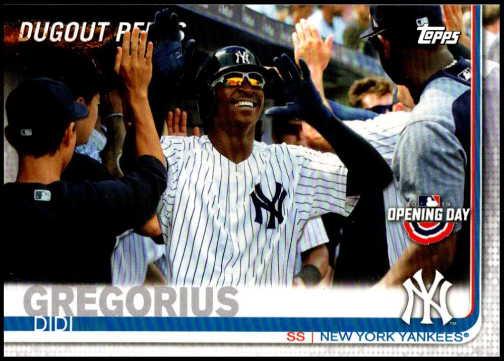 2019 Topps Opening Day Dugout Peeks
