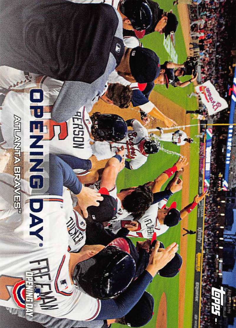 2019 Topps Opening Day Opening Day Baseball