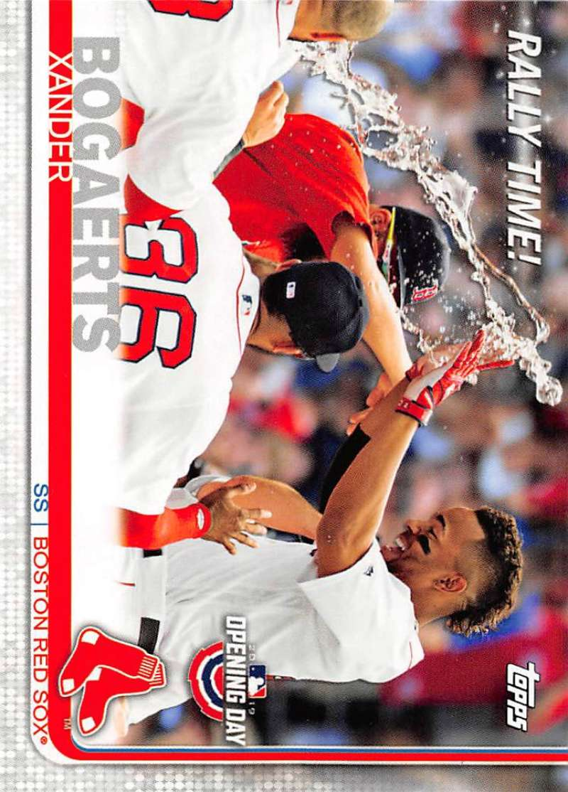 2019 Topps Opening Day Rally Time