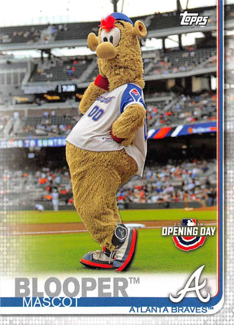 2019 Topps Opening Day Mascots