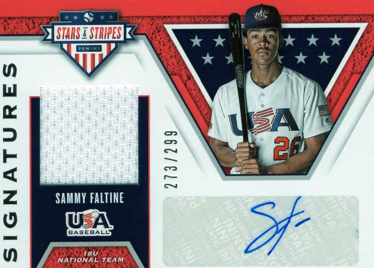 2019 Panini Stars and Stripes Stars and Stripes Signatures