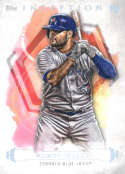 2019 Topps Inception Baseball #80 Rowdy Tellez Toronto Blue Jays  RC Rookie  Official MLB Trading Card
