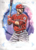 2019 Topps Inception Baseball #82 Taylor Ward Los Angeles Angels  RC Rookie  Official MLB Trading Card