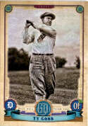 2019 Gypsy Queen Baseball #318 Ty Cobb SP Short Print Detroit Tigers  Official MLB Trading Card From Topps
