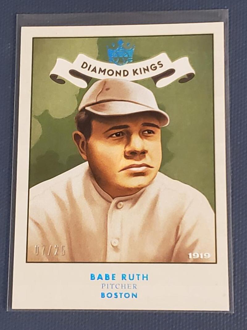 2019 Panini Diamond Kings 1919 Diamond Kings Holo Blue