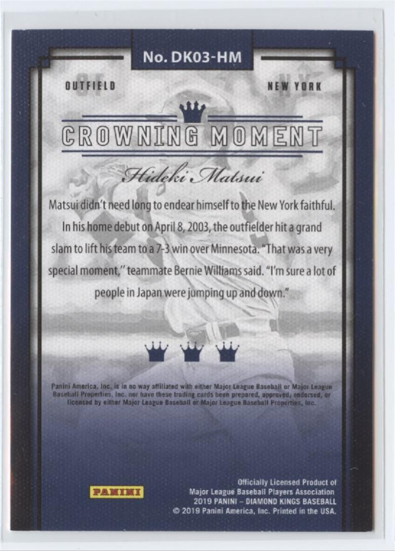 2019-Panini-Diamond-Kings-Baseball-Pick-Your-Cards-Make-Lot-Complete-Your-Set thumbnail 5