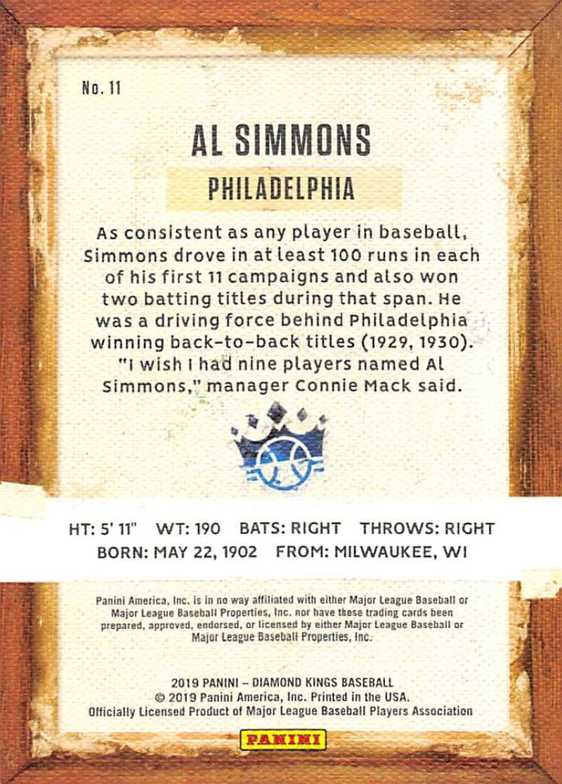 2019-Panini-Diamond-Kings-Baseball-Pick-Your-Cards-Make-Lot-Complete-Your-Set thumbnail 23