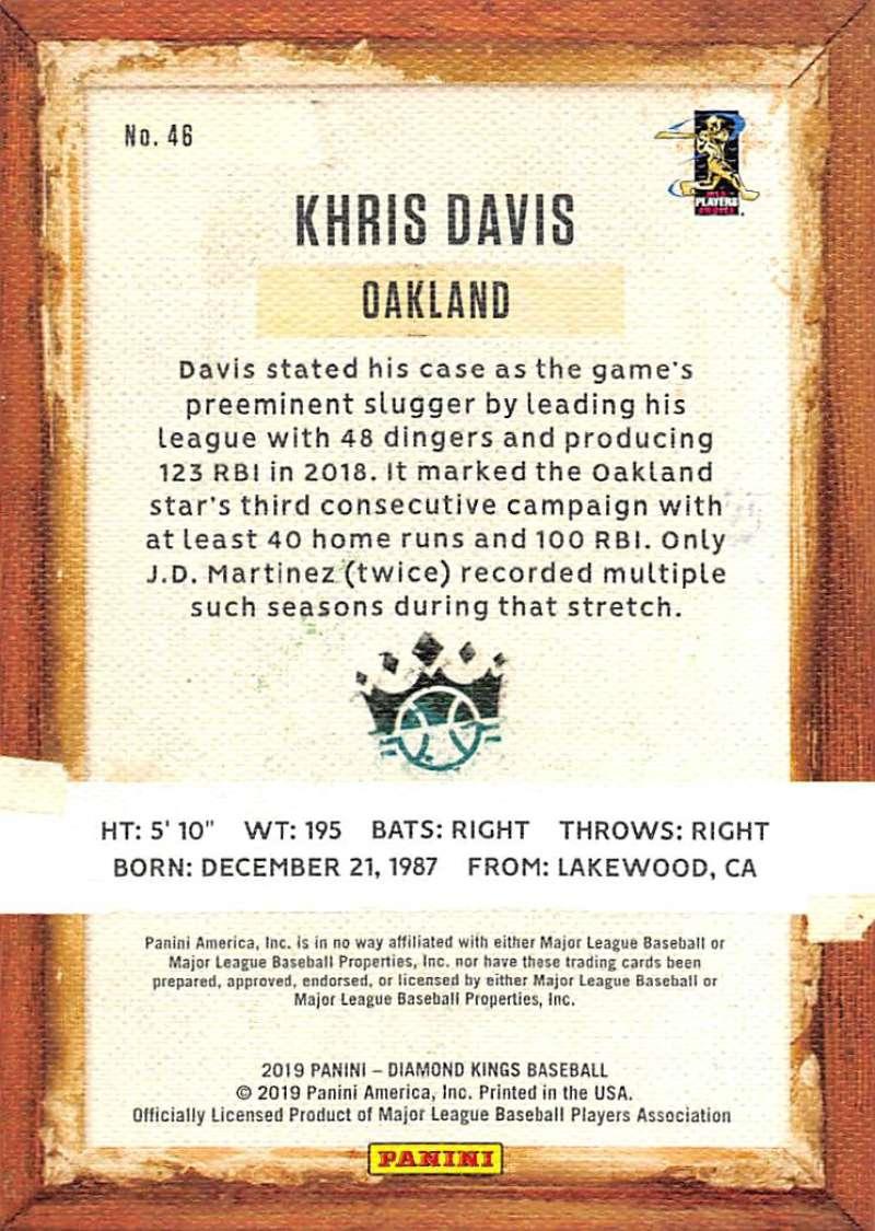 2019-Panini-Diamond-Kings-Baseball-Pick-Your-Cards-Make-Lot-Complete-Your-Set thumbnail 87
