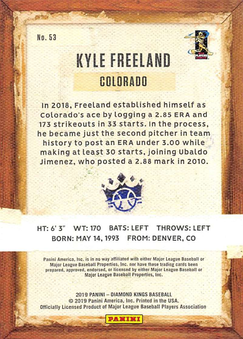 2019-Panini-Diamond-Kings-Baseball-Pick-Your-Cards-Make-Lot-Complete-Your-Set thumbnail 99