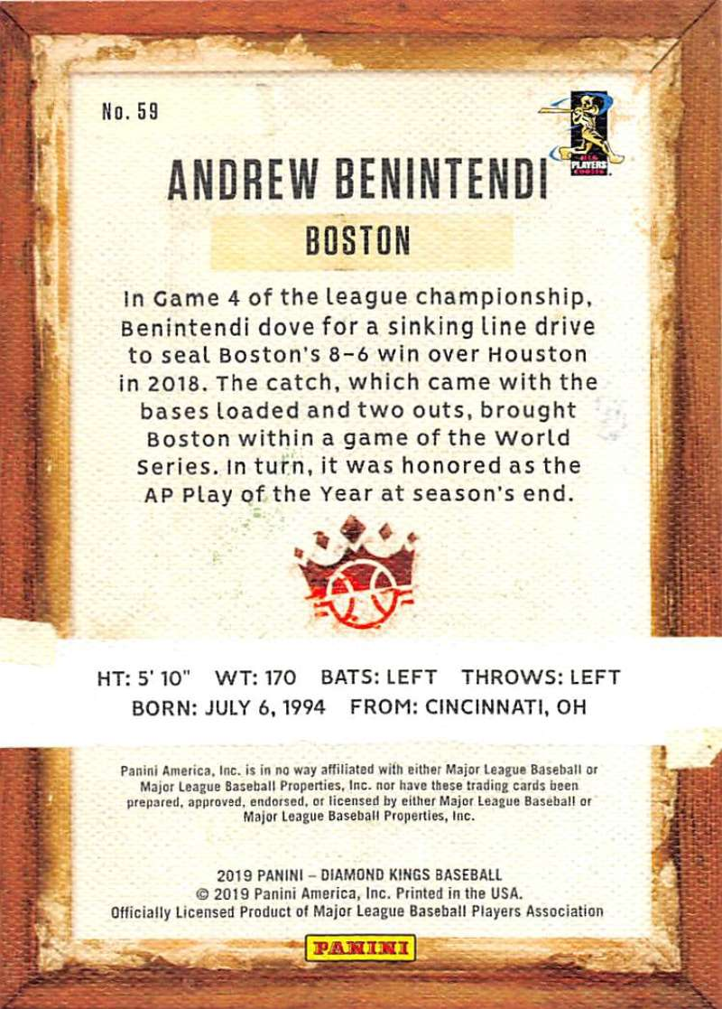2019-Panini-Diamond-Kings-Baseball-Pick-Your-Cards-Make-Lot-Complete-Your-Set thumbnail 111
