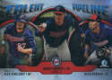2019 MLB Bowman Talent Pipeline Chrome Refractor #TP-MIN Nick Gordon/Brent Rooker/Alex Kirilloff Minnesota Twins  Official Baseball Card produced by T