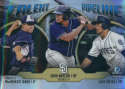 2019 MLB Bowman Talent Pipeline Chrome Refractor #TP-SDP Luis Urias/MacKenzie Gore/Josh Naylor San Diego Padres  Official Baseball Card produced by To