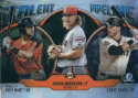 2019 MLB Bowman Talent Pipeline Chrome Refractor #TP-SFG Chris Shaw/Shaun Anderson/Joey Bart San Francisco Giants  Official Baseball Card produced by