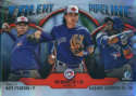 2019 MLB Bowman Talent Pipeline Chrome Refractor #TP-TOR Vladmir Guerrero Jr./Nate Pearson/Bo Bichette Toronto Blue Jays  Official Baseball Card produ
