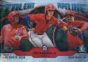 2019 MLB Bowman Talent Pipeline Chrome Refractor #TP-WAS Drew Ward/Luis Garcia/Carter Kieboom Washington Nationals  Official Baseball Card produced by