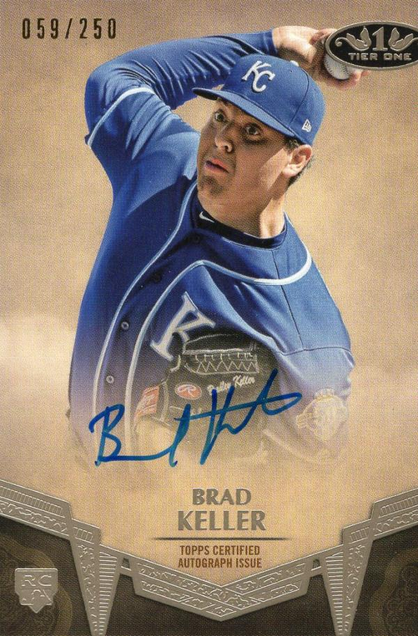 2019 Topps Tier One Break Out Autographs