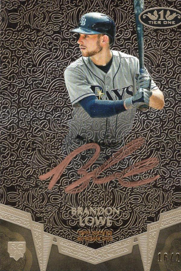 2019 Topps Tier One Break Out Autographs Bronze Ink