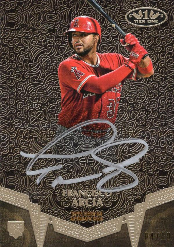 2019 Topps Tier One Break Out Autographs Silver Ink