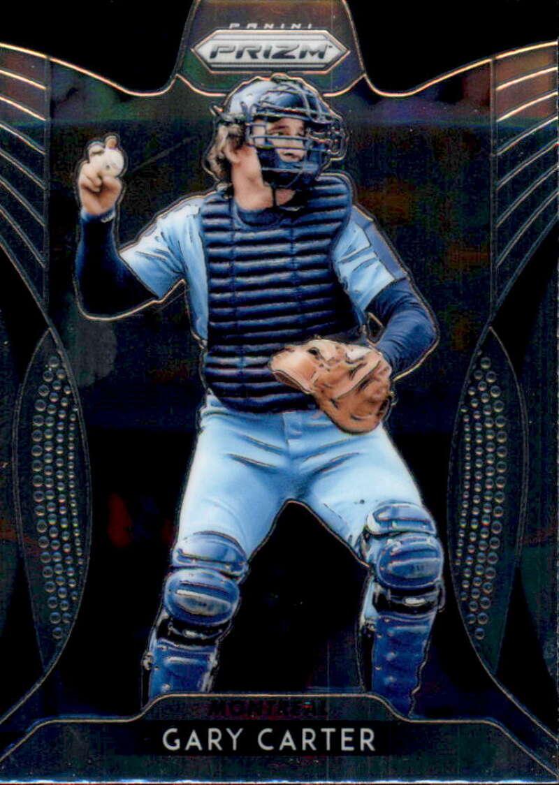 2019 PRIZM Baseball #252 Gary Carter Montreal Expos Tier III (SSP)  Official MLBPA Trading Card by Panini