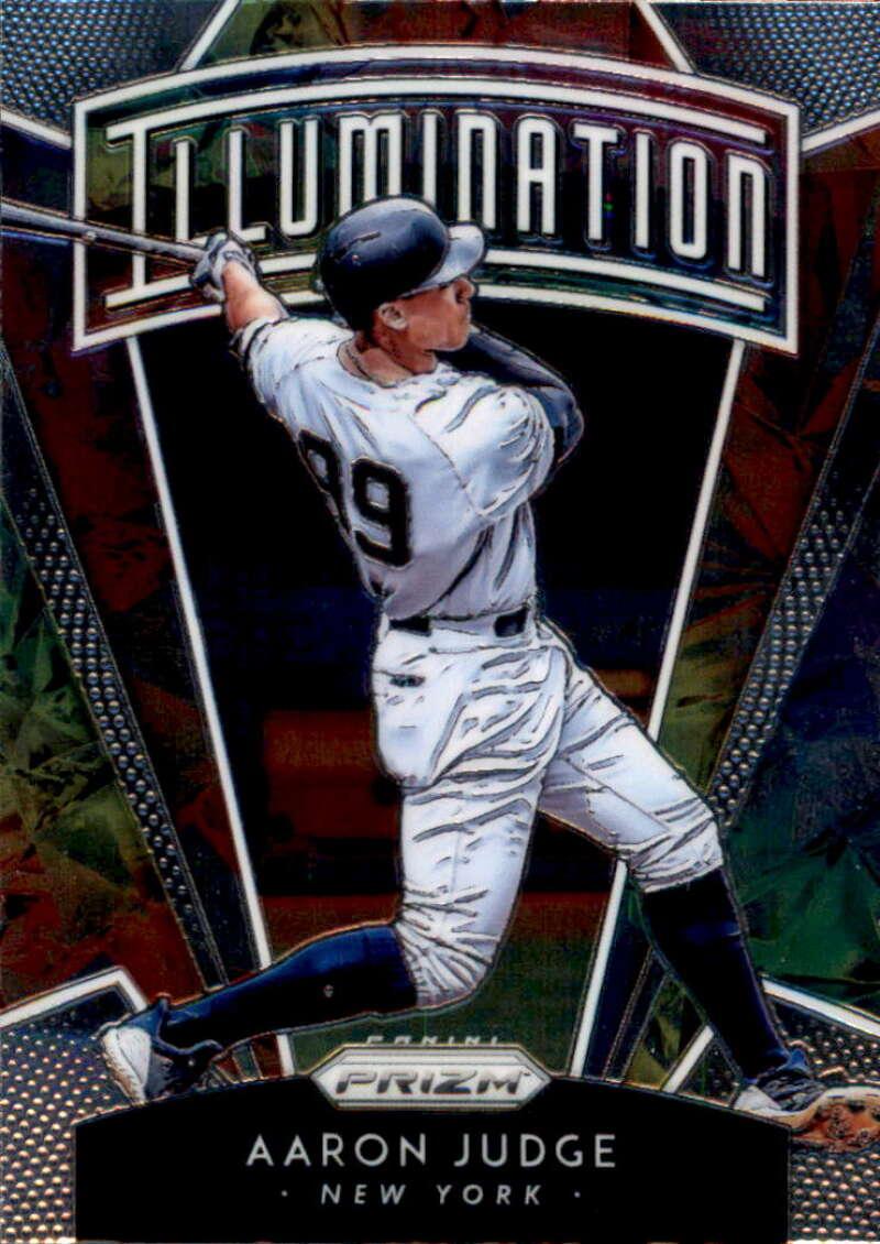 2019 Panini Prizm Illumination Baseball #1 Aaron Judge New York Yankees  MLBPA Licensed Trading Card