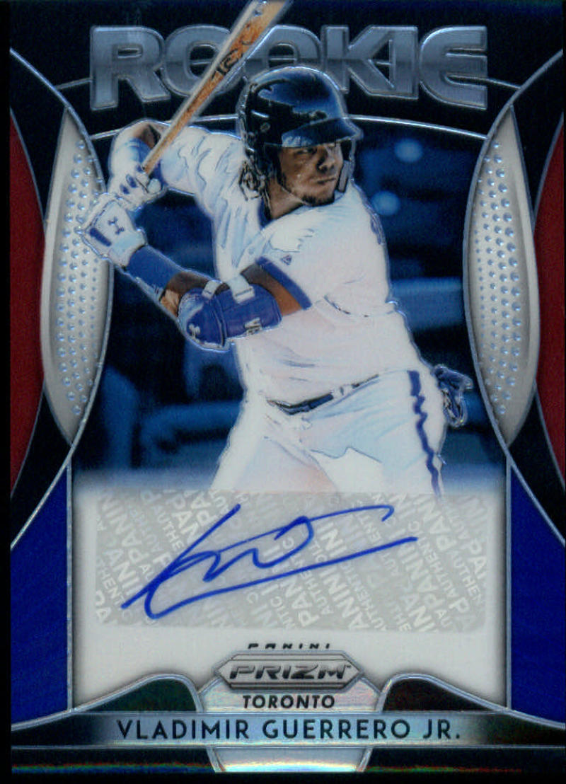 2019 Panini Prizm Rookie Autographs Red White and Blue Prizm