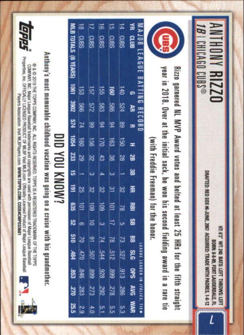 2019-Topps-BIG-LEAGUE-MLB-Baseball-GOLD-Parallel-Pick-Your-Cards-Make-a-Lot thumbnail 11