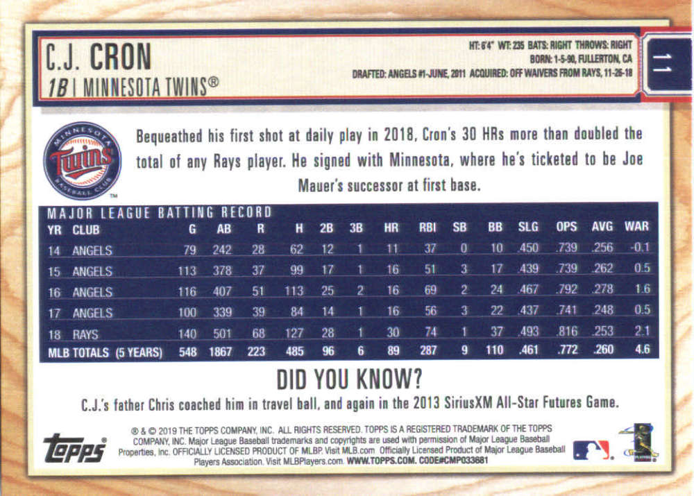 2019-Topps-BIG-LEAGUE-MLB-Baseball-GOLD-Parallel-Pick-Your-Cards-Make-a-Lot thumbnail 19