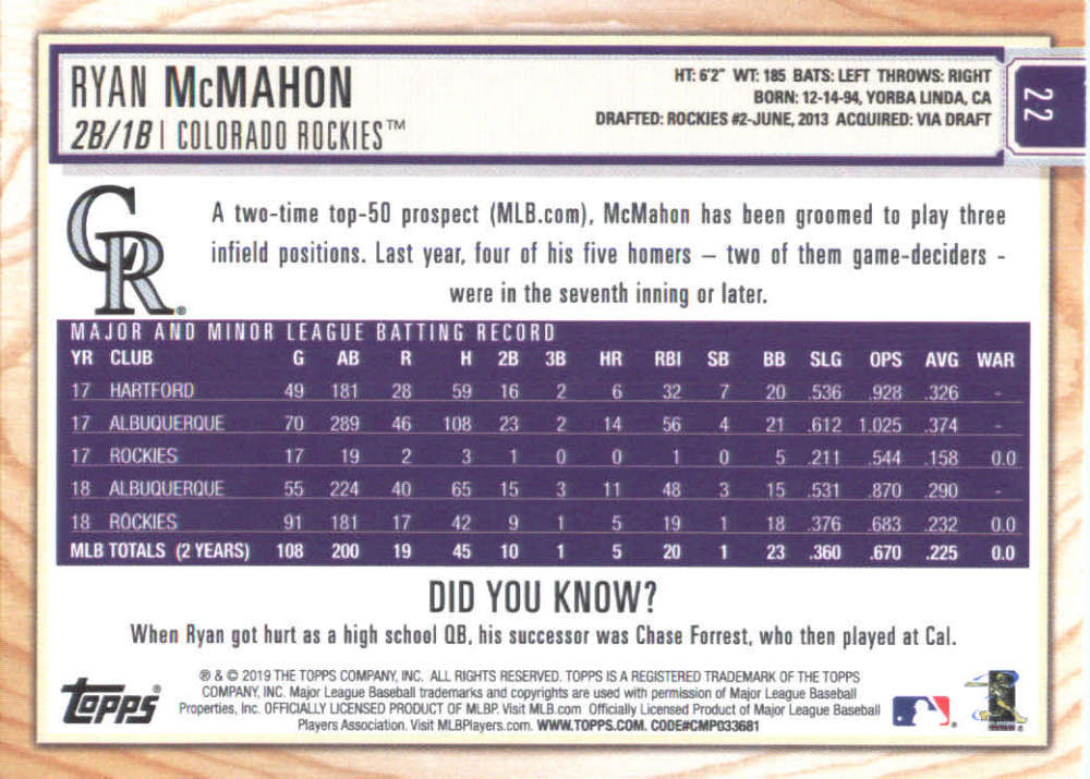 2019-Topps-BIG-LEAGUE-MLB-Baseball-GOLD-Parallel-Pick-Your-Cards-Make-a-Lot thumbnail 31