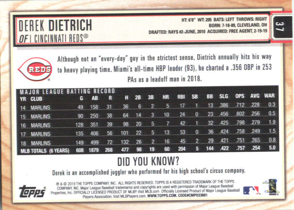 2019-Topps-BIG-LEAGUE-MLB-Baseball-GOLD-Parallel-Pick-Your-Cards-Make-a-Lot thumbnail 43