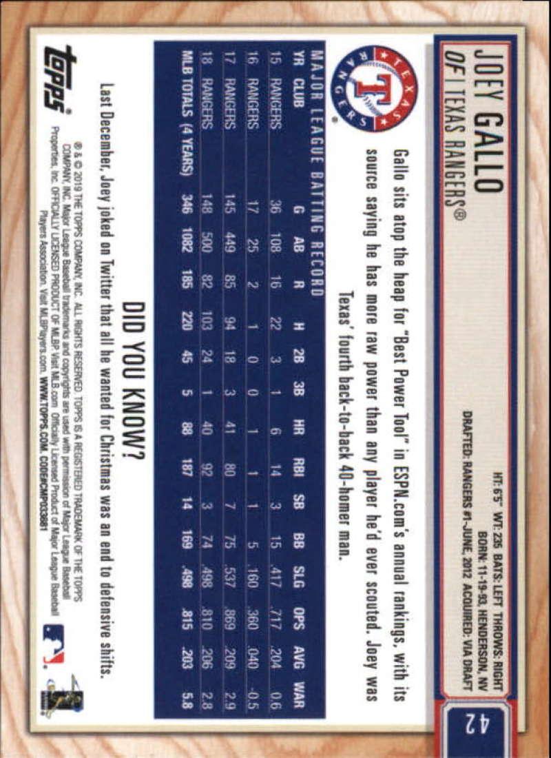 2019-Topps-BIG-LEAGUE-MLB-Baseball-GOLD-Parallel-Pick-Your-Cards-Make-a-Lot thumbnail 49