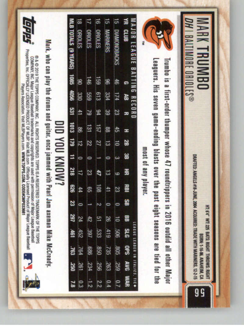 2019-Topps-BIG-LEAGUE-MLB-Baseball-GOLD-Parallel-Pick-Your-Cards-Make-a-Lot thumbnail 65
