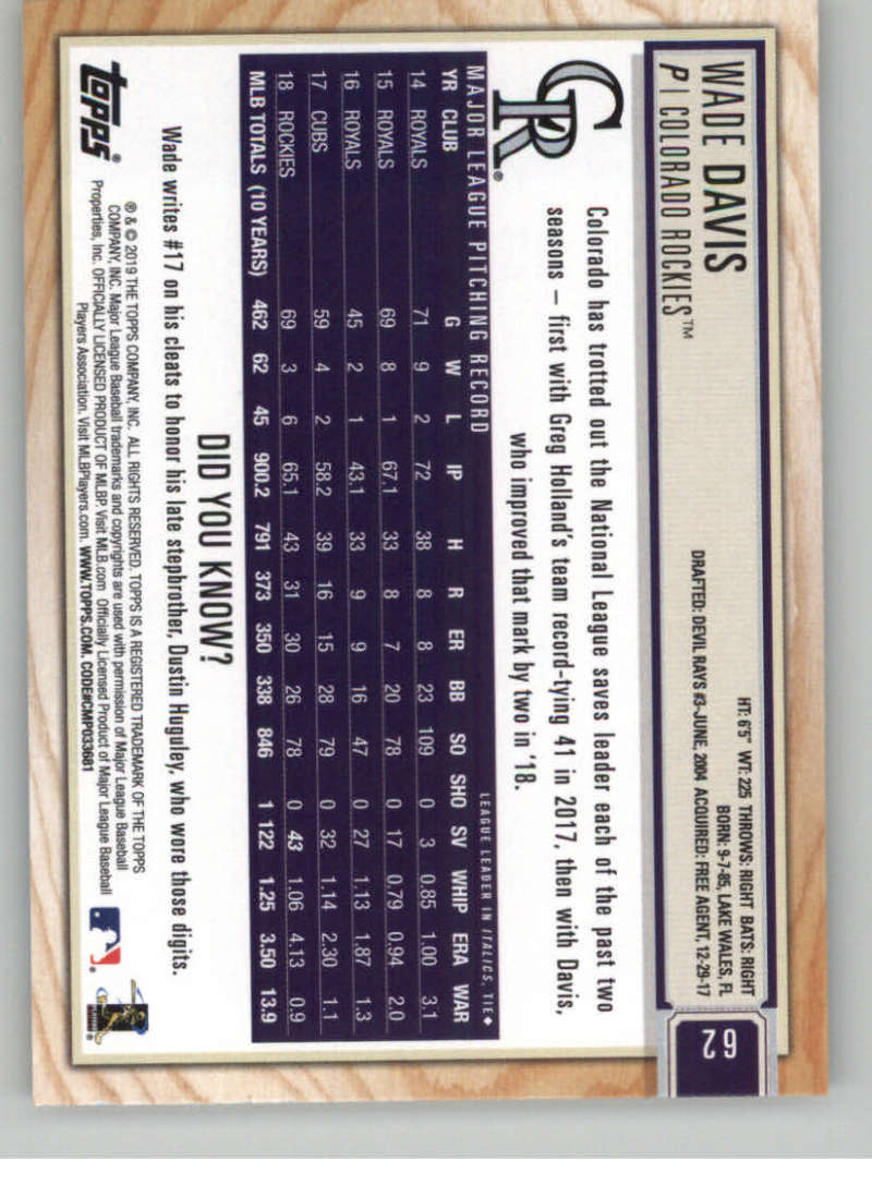 2019-Topps-BIG-LEAGUE-MLB-Baseball-GOLD-Parallel-Pick-Your-Cards-Make-a-Lot thumbnail 69