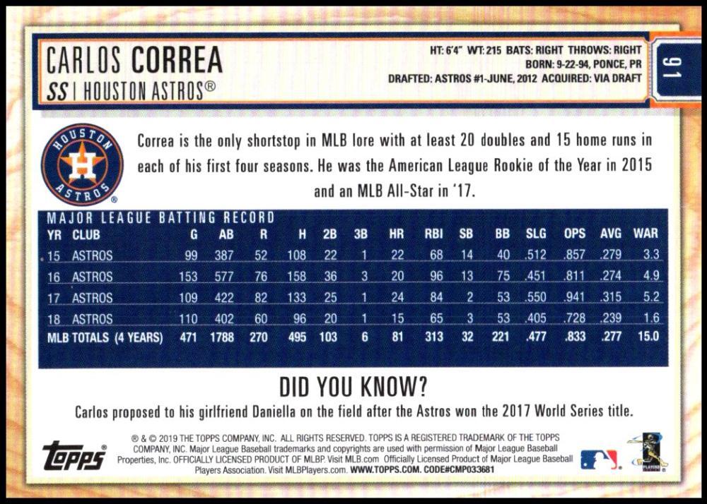 2019-Topps-BIG-LEAGUE-MLB-Baseball-GOLD-Parallel-Pick-Your-Cards-Make-a-Lot thumbnail 107
