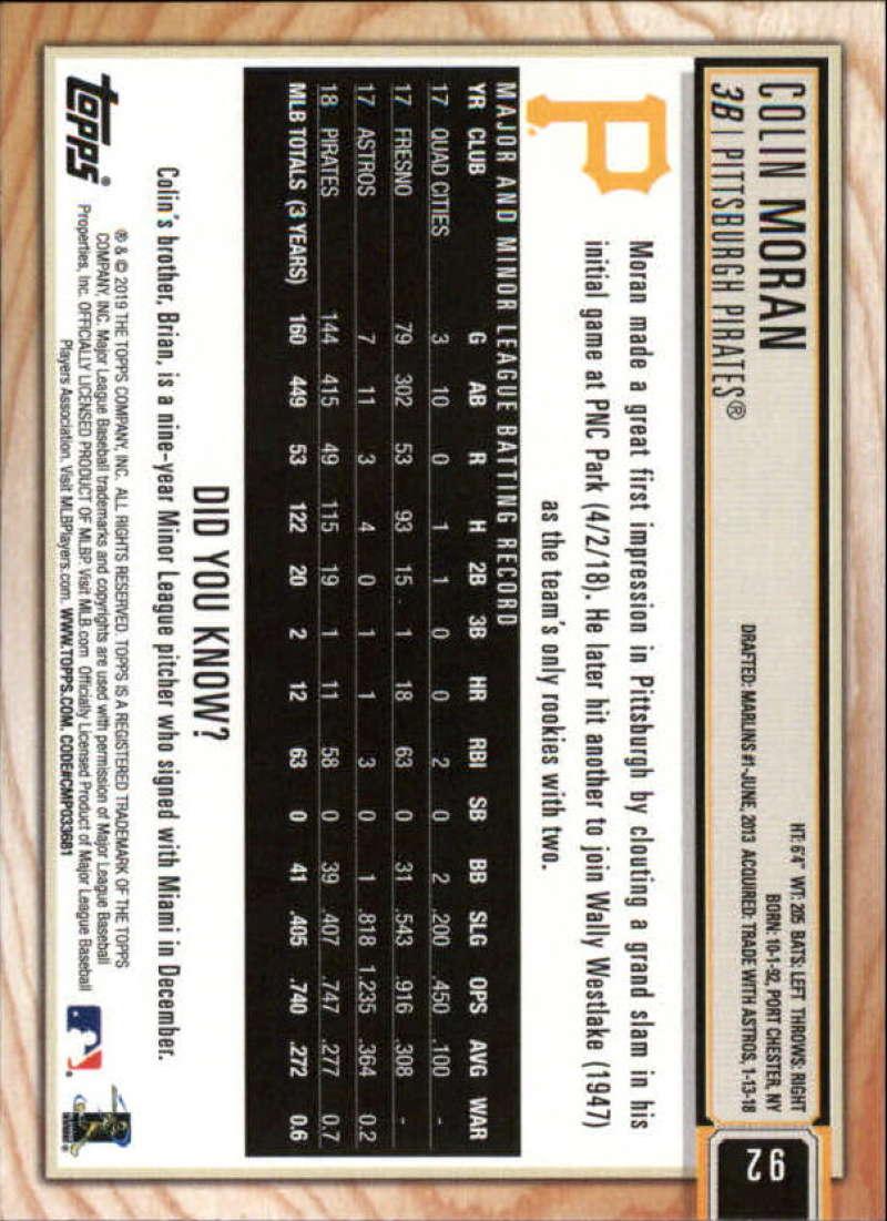 2019-Topps-BIG-LEAGUE-MLB-Baseball-GOLD-Parallel-Pick-Your-Cards-Make-a-Lot thumbnail 109