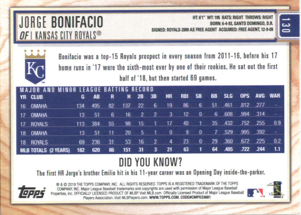 2019-Topps-BIG-LEAGUE-MLB-Baseball-GOLD-Parallel-Pick-Your-Cards-Make-a-Lot thumbnail 151