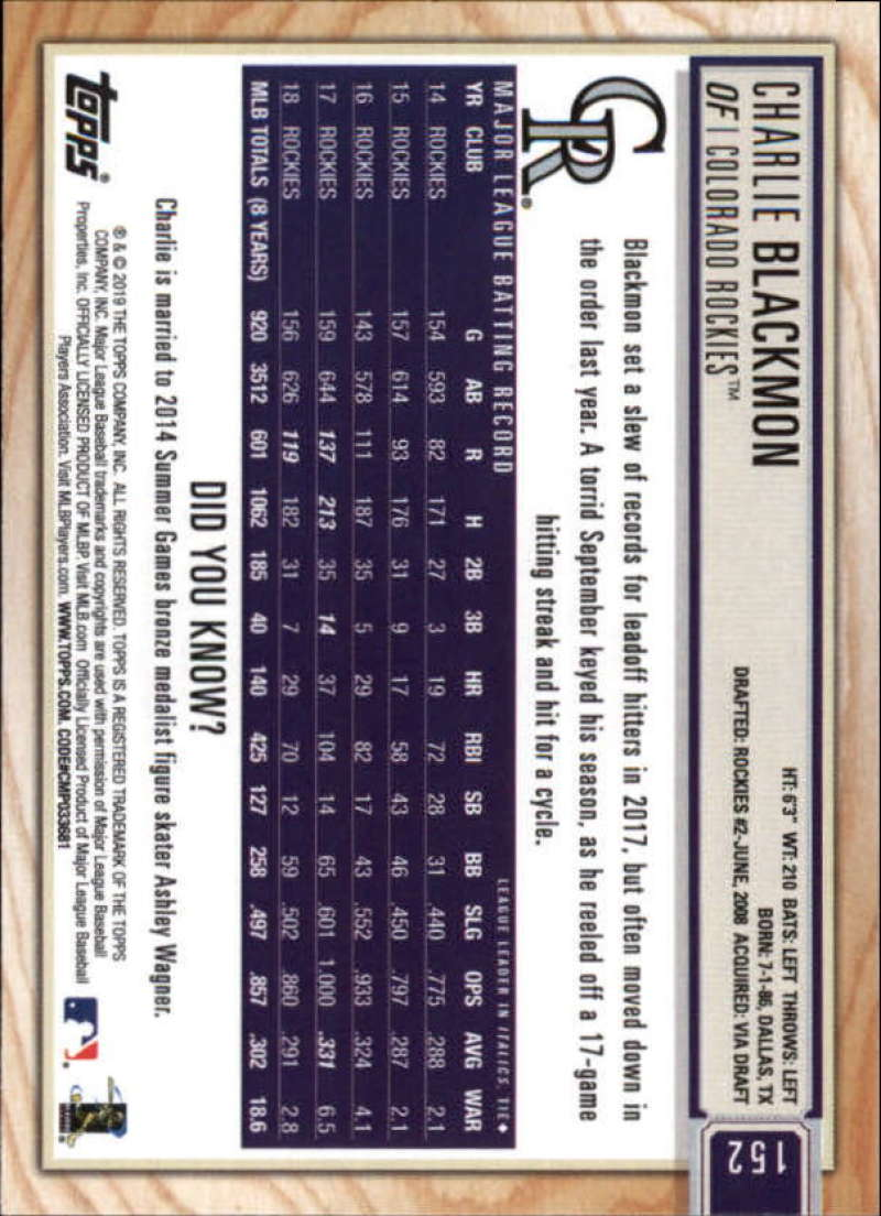 2019-Topps-BIG-LEAGUE-MLB-Baseball-GOLD-Parallel-Pick-Your-Cards-Make-a-Lot thumbnail 175