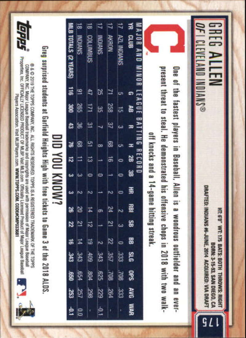 2019-Topps-BIG-LEAGUE-MLB-Baseball-GOLD-Parallel-Pick-Your-Cards-Make-a-Lot thumbnail 205