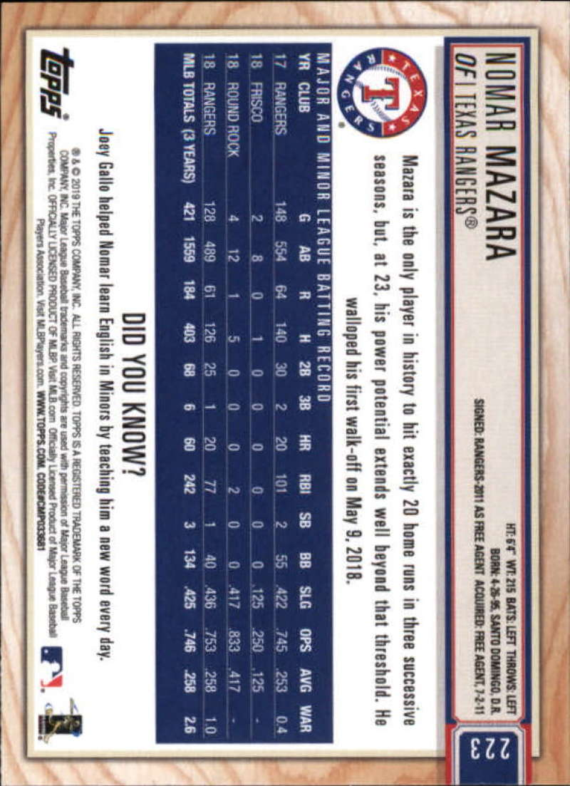 2019-Topps-BIG-LEAGUE-MLB-Baseball-GOLD-Parallel-Pick-Your-Cards-Make-a-Lot thumbnail 259