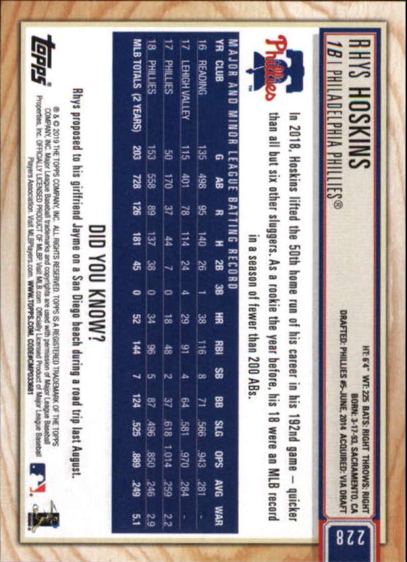 2019-Topps-BIG-LEAGUE-MLB-Baseball-GOLD-Parallel-Pick-Your-Cards-Make-a-Lot thumbnail 261