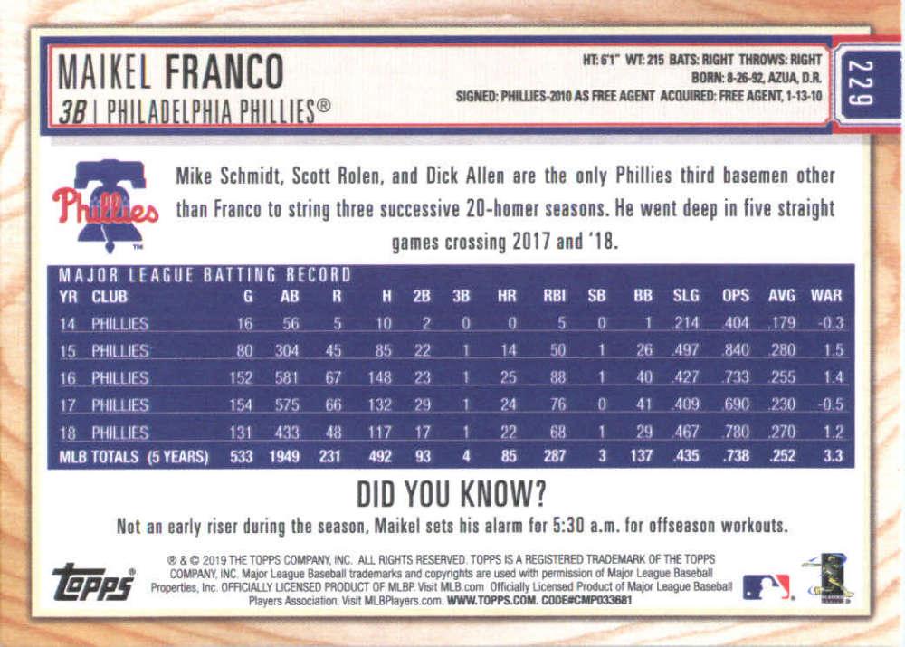 2019-Topps-BIG-LEAGUE-MLB-Baseball-GOLD-Parallel-Pick-Your-Cards-Make-a-Lot thumbnail 263