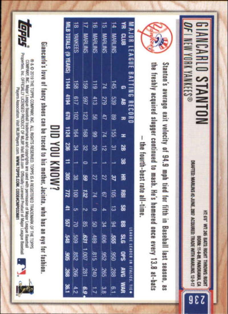 2019-Topps-BIG-LEAGUE-MLB-Baseball-GOLD-Parallel-Pick-Your-Cards-Make-a-Lot thumbnail 273